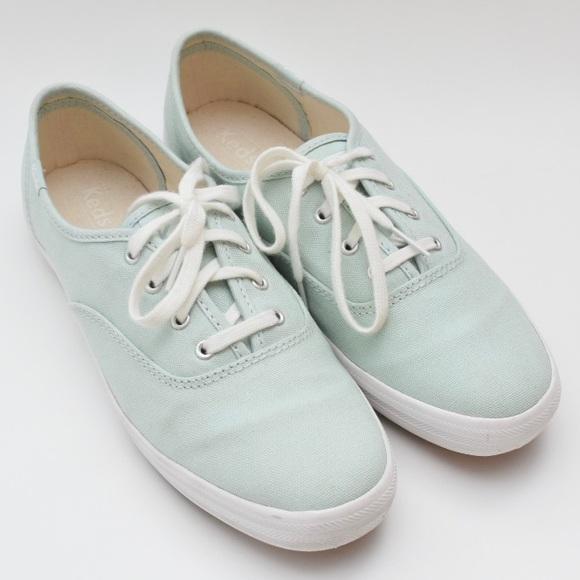 KEDS Light Blue Champion Originals Lace Up Sneaker